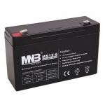 Аккумуляторная батарея MHB MS12-6